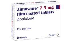 Zopiclone 7.5 mg / 10 mg